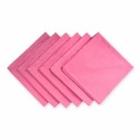 Design Imports CAMZ37408 Everyday Basic Cloth Flamingo Napkin - Set of 6