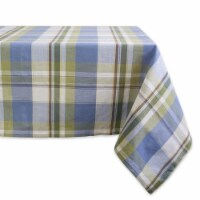 DII Lake House Plaid Tablecloth - 1