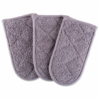 Design Imports Gray Terry Pan Handle Covers (Set of 3)