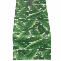 DII Banana Leaf Outdoor Table Runner With Zipper - 1