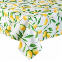 DII Lemon Bliss Print Tablecloth - 1