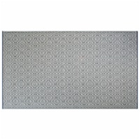 DII Gray Diamond Outdoor Rug