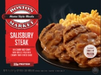 Boston Market Home Style Meals Salisbury Steak Frozen Meal