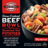 Boston Market Slow-Cooked Beef Bowl with Seasoned Red Potatoes Frozen Meal - 11 oz