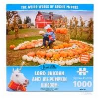 Archie McPhee Lord Unicorn And His Pumpkin Kingdom 1000 Piece Puzzle - 1 Unit