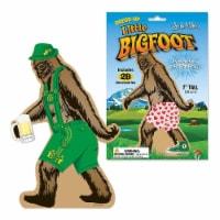 Archie McPhee Little Bigfoot Dressup Reusable Sticker Set - 1 Unit