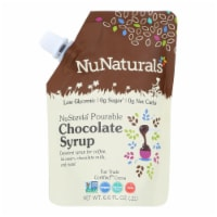 Nunaturals - Chocolate Syrup Pourable - 1 Each - 6.6 OZ - Pack of 3 - Case of 3 - 6.6 OZ each