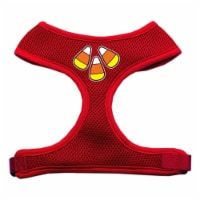 Candy Corn Design Soft Mesh Harnesses Red Extra Large - 1