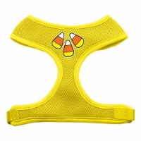 Candy Corn Design Soft Mesh Harnesses Yellow Extra Large - 1