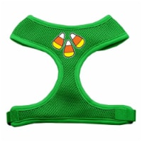 Candy Corn Design Soft Mesh Harnesses Emerald Green Extra Large - 1