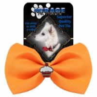 Cupcake Widget Pet Bowtie, Orange