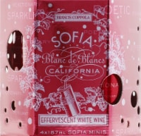 Sofia Mini Blanc De Blancs California Effervescent White Wine