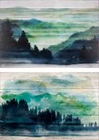 Patton Echo Lake Wall Art - Assorted