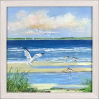Patton Pictures Beach Combing Wall Decor