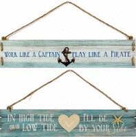 Patton Coastal Hanging Plaques - Assorted