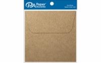 Envelope 4.5x4.5 8pc Brown Bag - 1