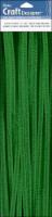 PA Essentials Chenille Stem - 25 Pack - Green