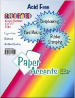 Paper Accents Assorted Variety Pack Card Stock - 20 Pack - Multi-Color - 8.5 x 11 in