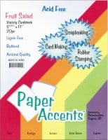 Paper Accents Fruit Salad Variety Pack Card Stock - 20 Pack - Multi-Color