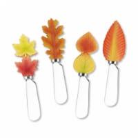 Supreme Housewares Spreader Set of 4-Fall Leaves