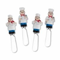 Supreme Housewares Spreader Set of 4-Chefs