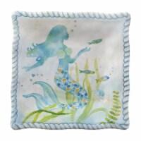 """Supreme Housewares 6"""" Melamine Mermaid Plate, Set of 4"""