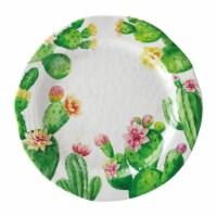 "Supreme Housewares Cactus, 10 7/8"" Melamine Plate"