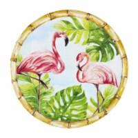 "Supreme Housewares Bamboo, Flamingo, 11"" Melamine Plate - 1"