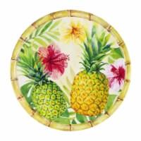 "Supreme Housewares Bamboo, Pineapple, 11"" Melamine Plate - 1"