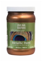 Modern Masters  Shimmer  Satin  Statuary Bronze  Metallic Paint  1 qt. - Case Of: 1; - Count of: 1