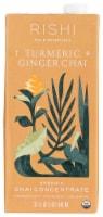 Rishi Tea Organic Turmeric Ginger Chai Tea Concentrate - 32 fl oz