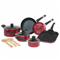 Ecolution Easy Clean Cookware Set - Red