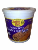 That's Pat's Italian Style Gravy and Beef