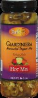 Pat's Giardiniera Hot Marinated Pepper Mix