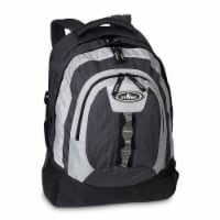 Everest Multiple Compartment Deluxe Backpack - Charcoal
