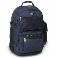 Everest Oversize Deluxe Backpack - Navy/Black