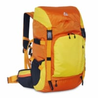 Everest Weekender Hiking Backpack - Orange/Yellow