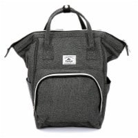 Everest Mini Back Backpack Handbag - Gray