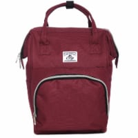 Everest Mini Handbag Backpack - Burgundy