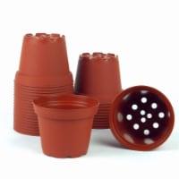 Poppelmann TO8D81730 3 in. dia. Plastic Terra Cotta Pots - Pack of 30 - 1