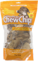 The Rawhide Express Beefhide Peanut Butter Flavor Chew Chips