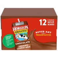 Horizon Organic Lowfat Chocolate Milk 12 Count