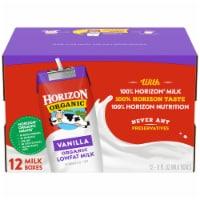 Horizon Organic Lowfat Vanilla Milk