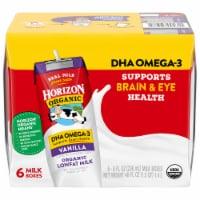 Horizon Organic DHA Omega-3 Lowfat Vanilla Milk