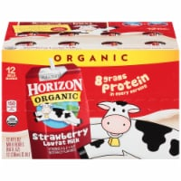 Horizon Organic Low Fat Strawberry Milk 12 Count