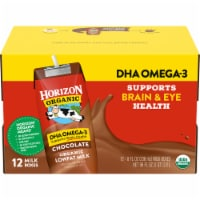 Horizon Organic DHA Omega-3 Lowfat Chocolate Milk Boxes