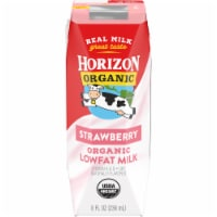 Horizon Organic Lowfat Strawberry Milk