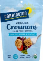 Carrington Farms Organic Cracked Pepper & Sea Salt Quinoa Crounons