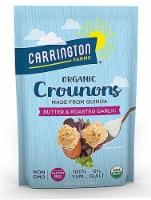 Carrington Farms Organic Butter & Roasted Garlic Quinoa Crounons