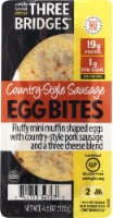 Three Bridges Country Style Sausage Egg Bites